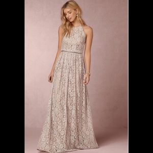 Anthropology Alana BHLDN Romantic Lace Dress